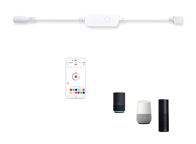 RGB灯带 Wi-Fi 控制器+按键功能方案