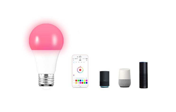 WiFi 智能RGBW球泡灯控方案