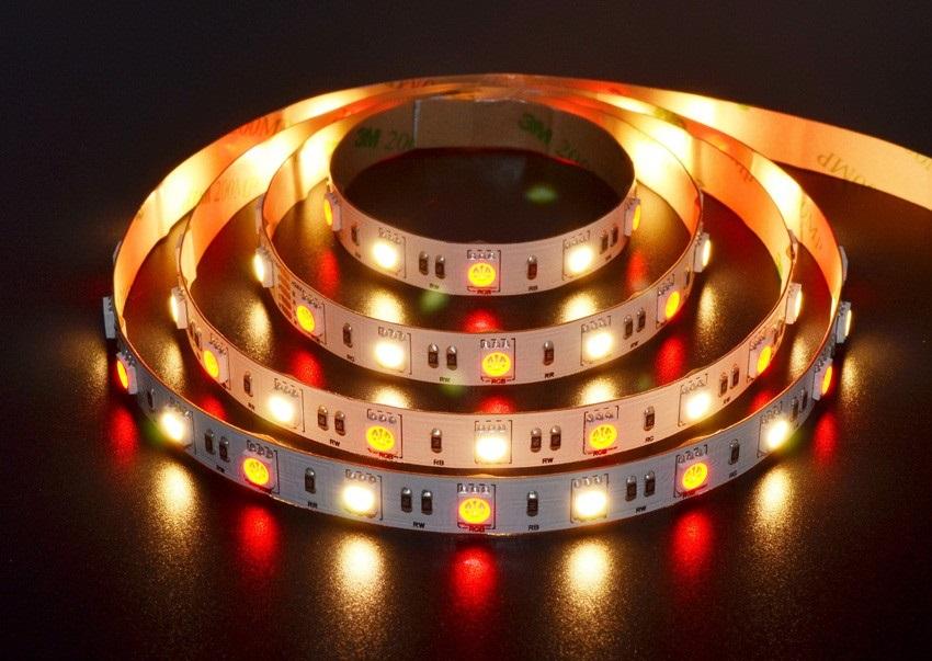 灯泡-灯带-rgbw和rgb的控制器有什么区别