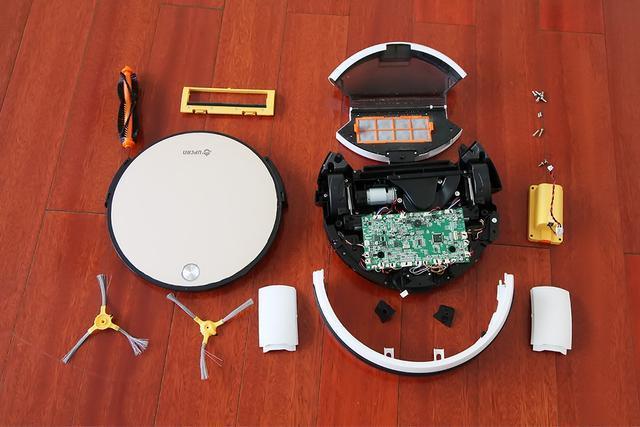 扫地机器人的功能模块